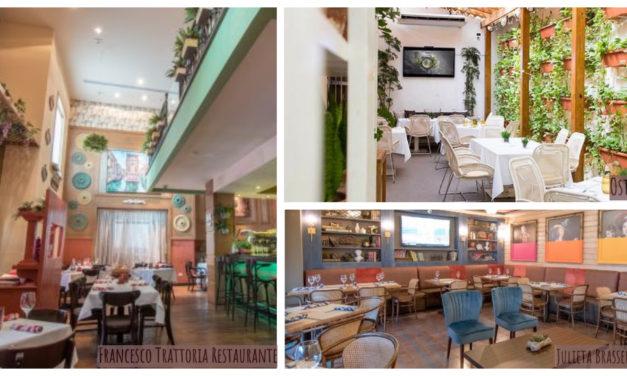 Tres restaurantes, un exquisito trayecto para seducir el paladar