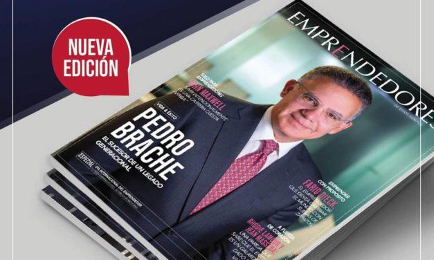 Pedro Brache engalana nueva portada de la Revista Emprendedores